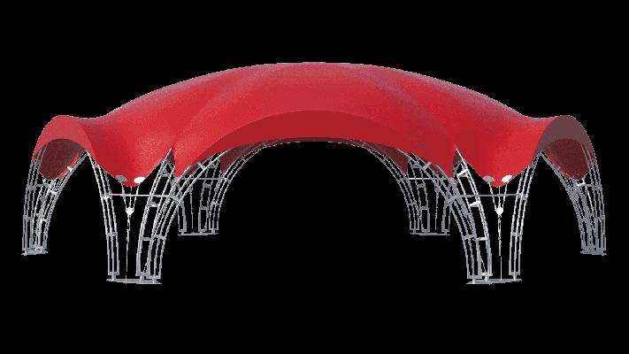 Арочные шатры Лого слайдер на главную
