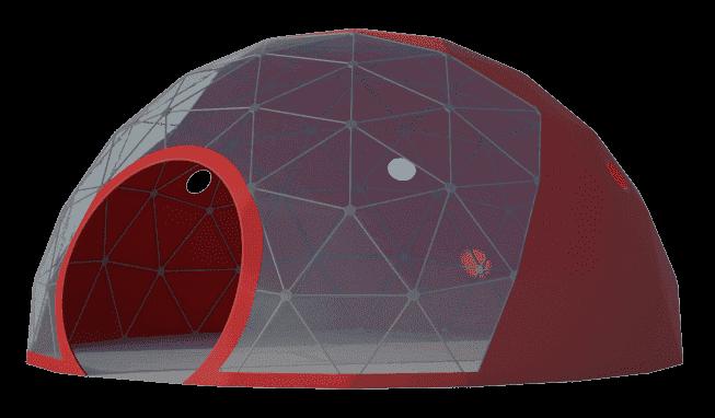 Сферические шатры Лого слайдер на главную