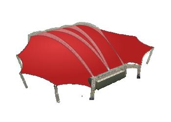 Для загородного дома, дачи, отдыха — Мембранные шатры Лого главная