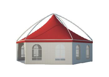 Для загородного дома, дачи, отдыха –– Шестигранные шатры Лого главная