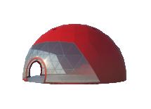 Сферические шатры Лого главная
