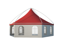 Шестигранные шатры Лого главная