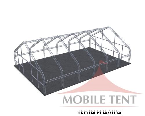 Арочный ангар 20х30 м Схема 5