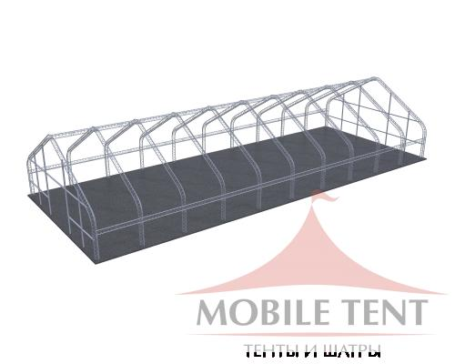 Арочный ангар 20х50 м Схема 5