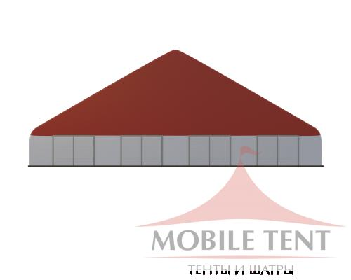 Арочный ангар 40х100 м Схема 2
