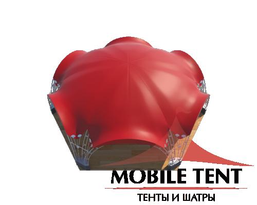 Арочный шатёр 12х10 — 94 м² Схема