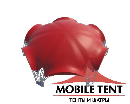 Арочный шатёр 20х17 — 260 м² Схема