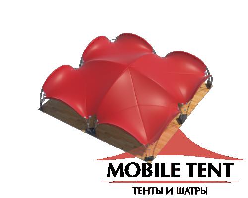 Арочный шатёр 20х20 — 400 м² Схема 4