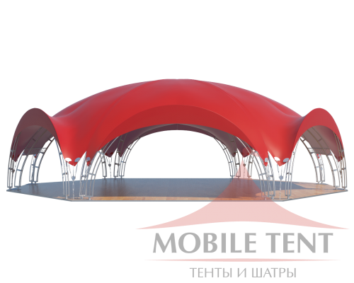 Арочный шатёр 22х20 — 360 м² Схема 2