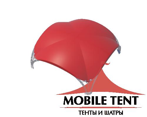Арочный шатёр 8х8 — 64м²(V) Схема 4