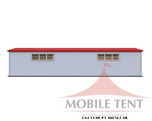 Каркасный ангар 10х30м Схема 3