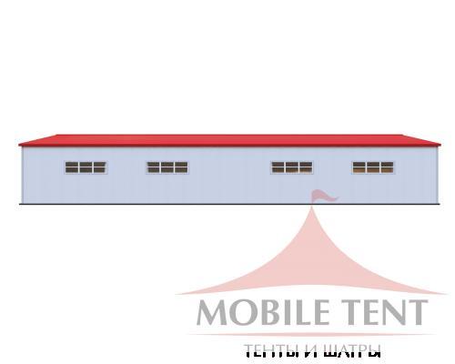 Каркасный ангар 30х50 м Схема 3