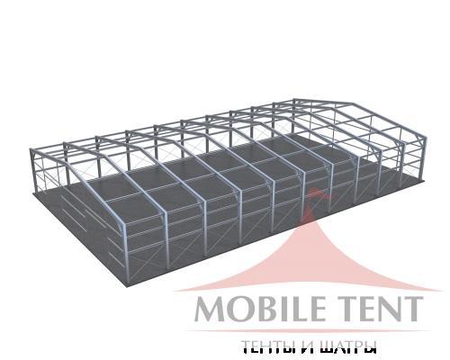 Каркасный ангар 30х50 м Схема 5
