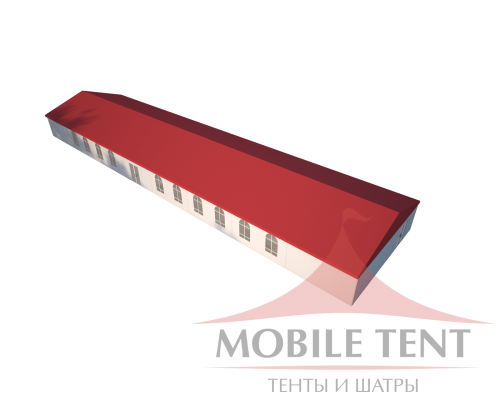 Классический шатёр 10х40 Схема
