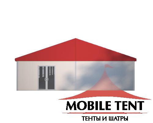 Классический шатёр 10х40 Схема 2