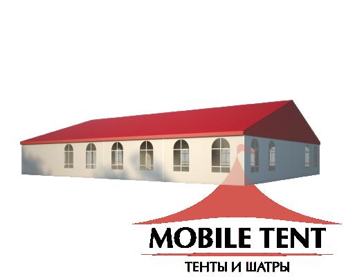 Классический шатёр 15х20 Схема 1