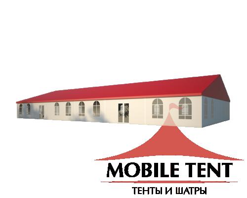 Классический шатёр 15х30 Схема 1