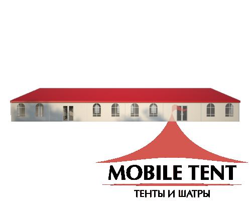 Классический шатёр 15х30 Схема 3