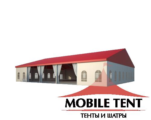 Классический шатёр 20х25 Схема 1