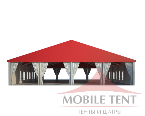 Классический шатёр 20х30 Схема 2