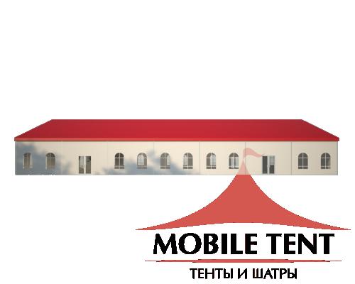Классический шатёр 20х35 Схема 3