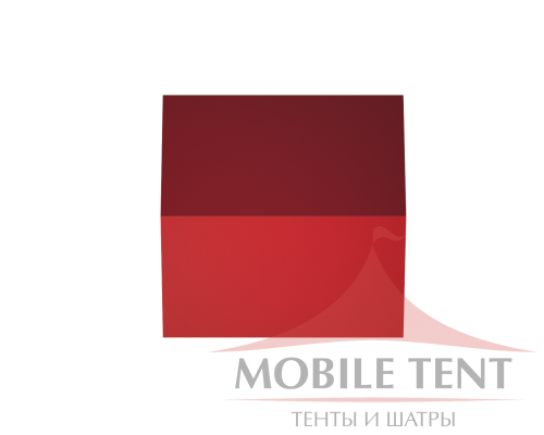 Классический шатёр 25х25 Схема 4