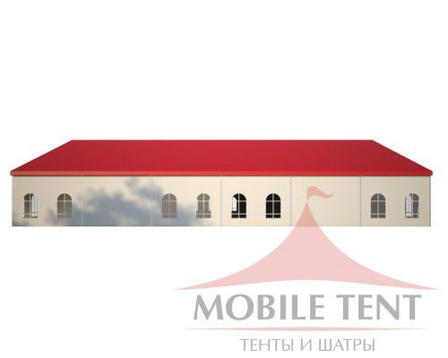 Классический шатёр 25х30 Схема 3