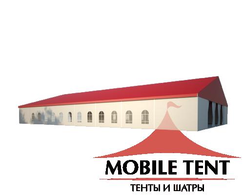 Классический шатёр 25х40 Схема 1