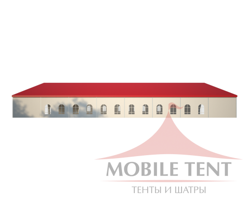 Классический шатёр 25х40 Схема 3