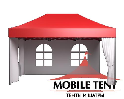 Быстросборные шатры трансформеры Prof 3х4.5 Схема 3
