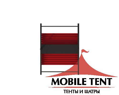 Пергола Двойная Подвесная 5х6 Схема 4