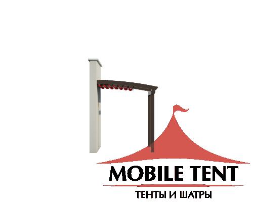 Пергола Стандарт 5х8 Схема 1