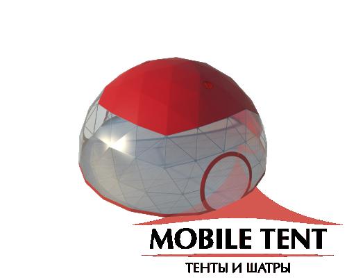 Купольный шатер диаметр 10 м Схема