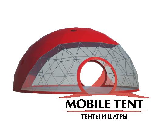 Купольный шатер диаметр 10 м Схема 2