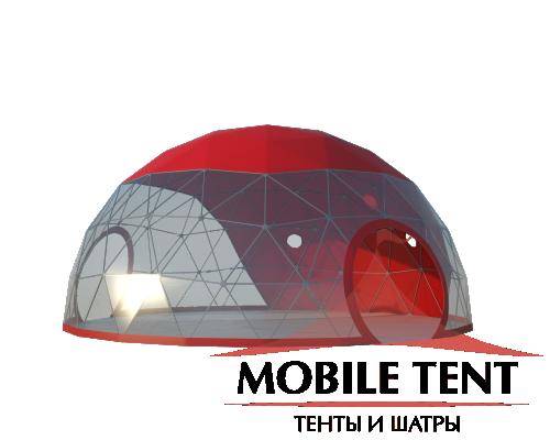 Купольный шатер диаметр 10 м Схема 1