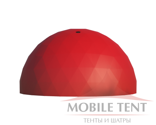 Сферический шатер диаметр 12 м Схема 2