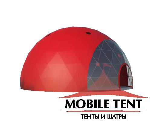 Сфера шатер диаметр 14 м Схема 3