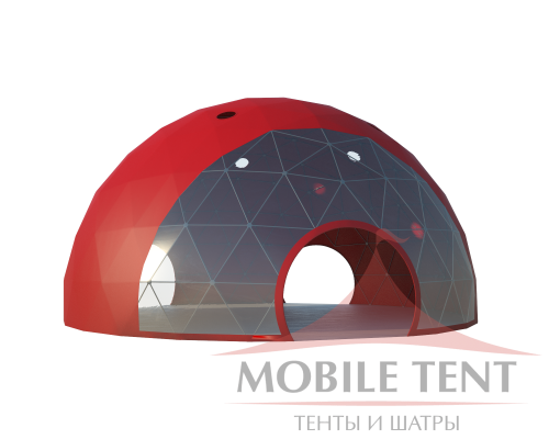 Сфера шатер диаметр 14 м Схема 1