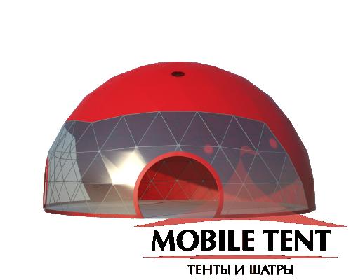 Сферический шатер диаметр 16 м Схема 3