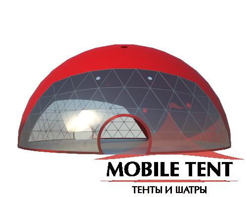 Сферический шатер диаметр 25 м Схема 3
