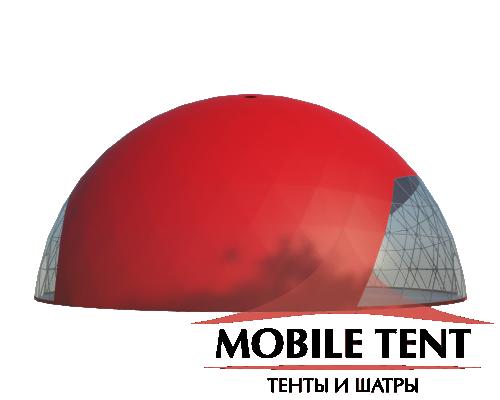 Сферический шатер диаметр 30 м Схема 2