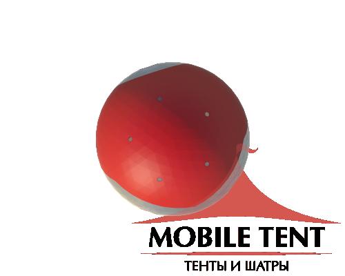 Сферический шатер диаметр 30 м Схема 4