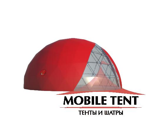 Сферический шатер диаметр 6 м Схема 2