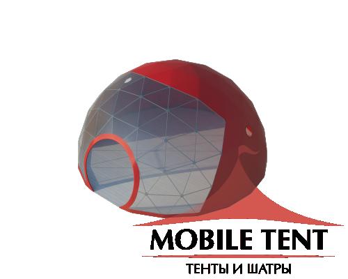 Сфера шатер диаметр 8 м Схема
