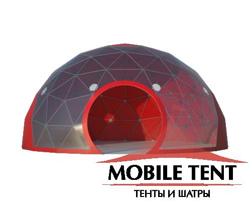 Сфера шатер диаметр 8 м Схема 3