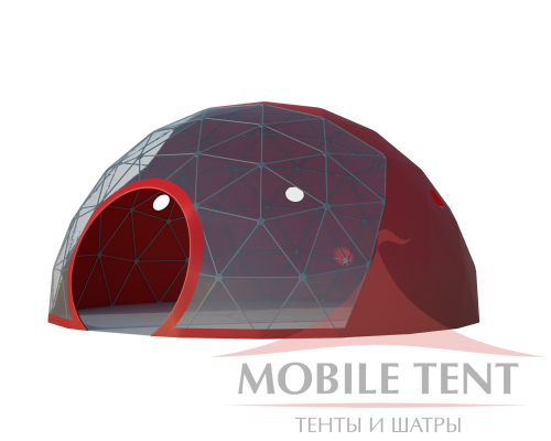 Сфера шатер диаметр 8 м Схема 1