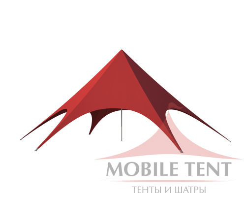 Шатёр Звезда (Диаметр 14 м) Схема 1