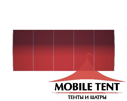 Шатёр для мероприятий 10х25 Схема 4