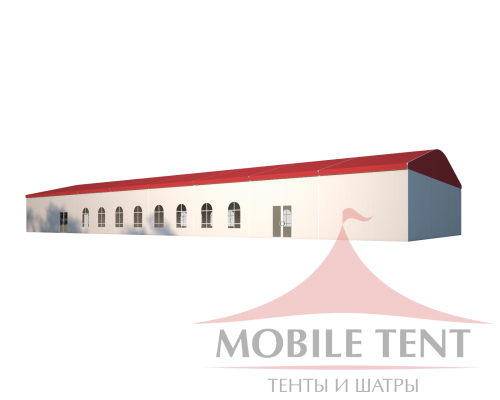 Шатёр для мероприятий 10х40 Схема 1