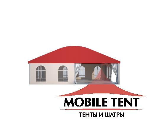 Шатёр для мероприятий 10x10 м Схема 2